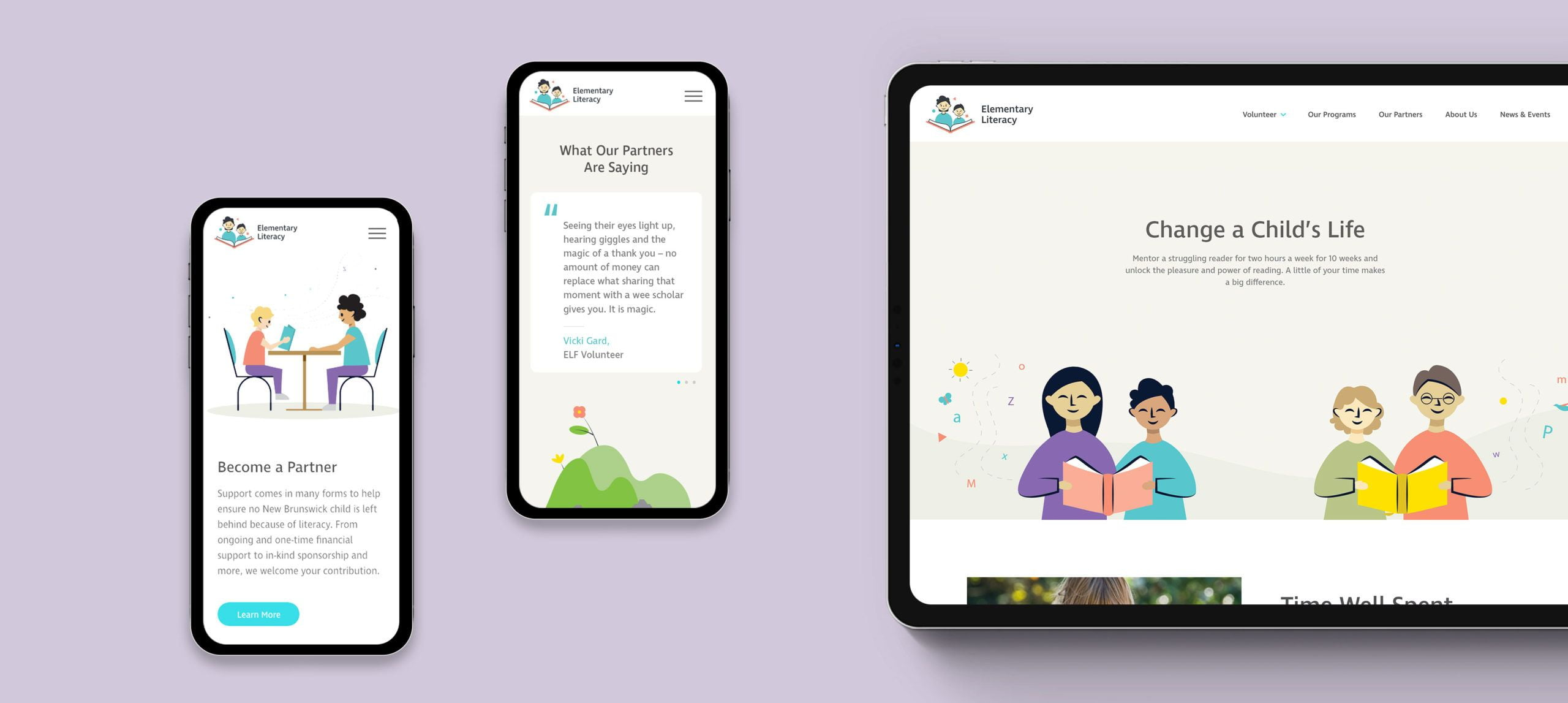 Elementary Literacy Website