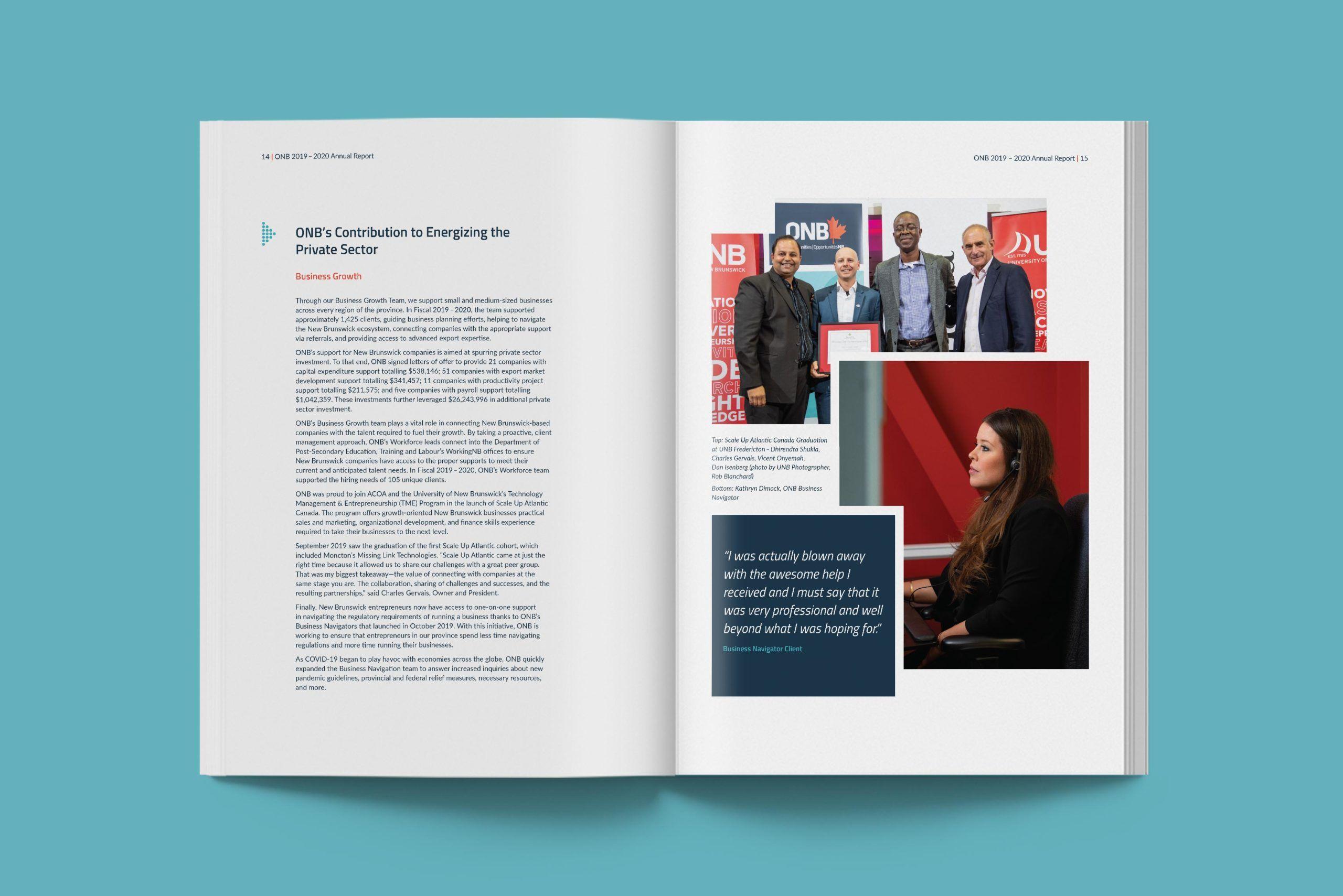 Opportunities New Brunswick annual report